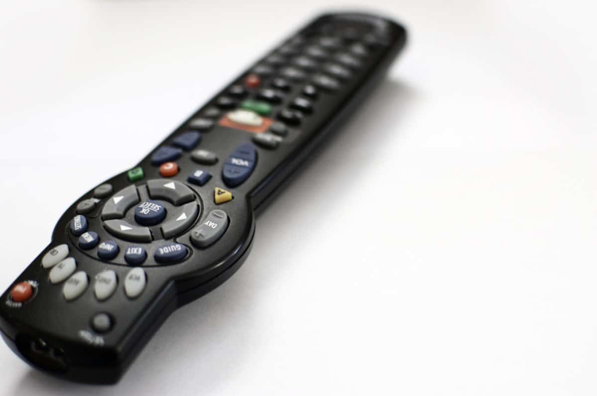 Procrastination's most common form - the TV (remote)