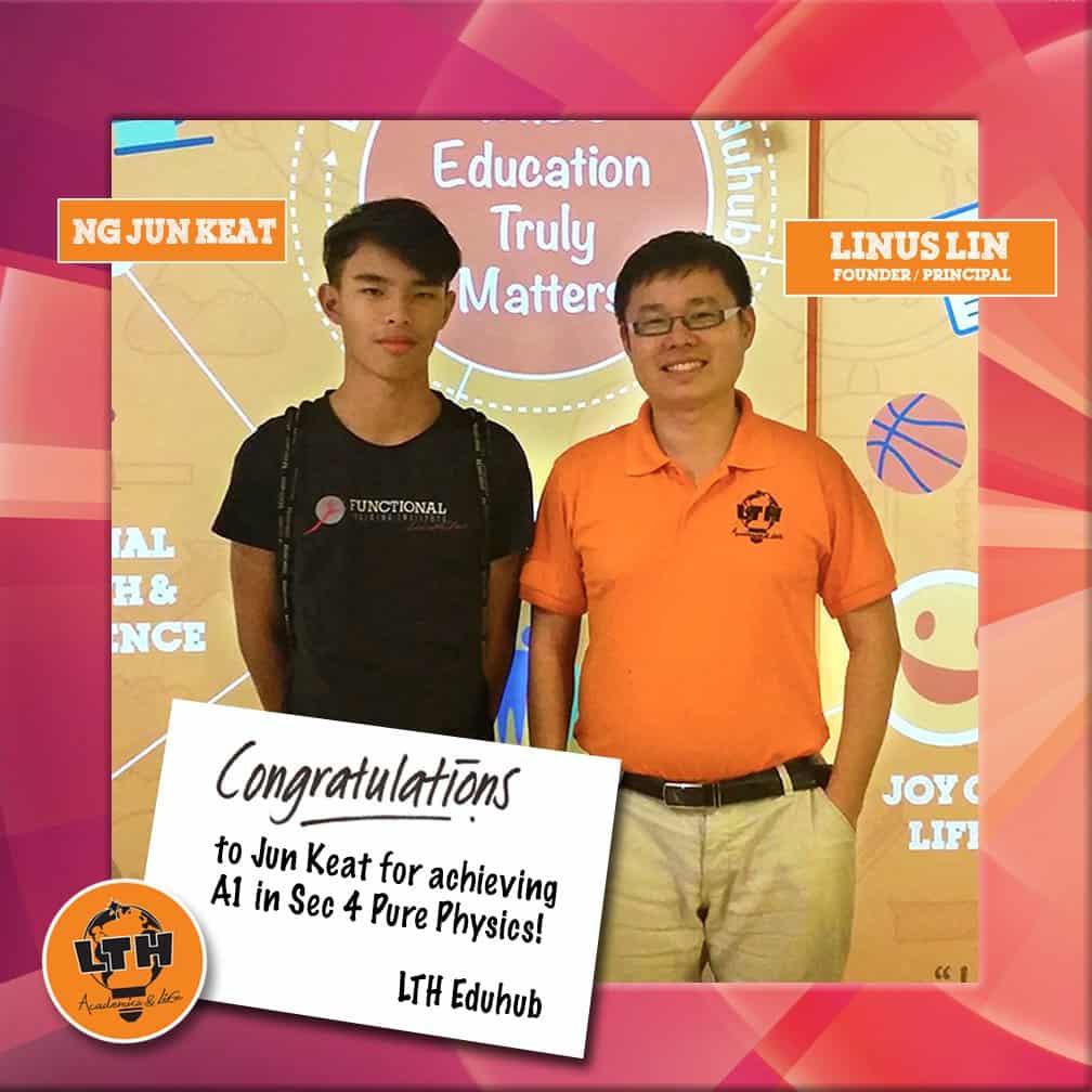 Congrats Jun Keat